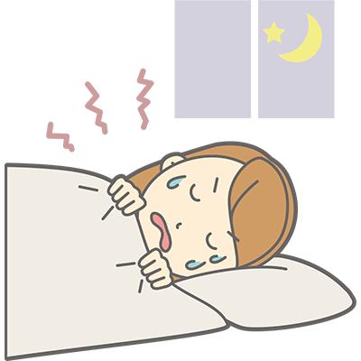 日中や夜間の噛みしめ癖